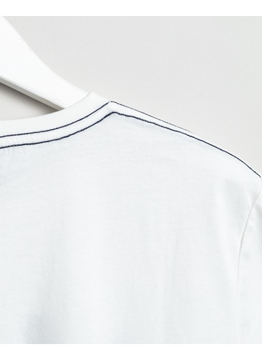 Gant Erkek Krem Regular Fit Tshirt Krem
